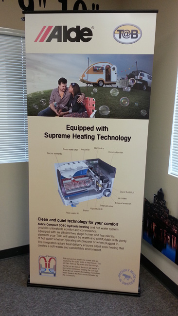 Retractable Banner Stands for Trade Shows in the Portland-Vancouver Metro Area