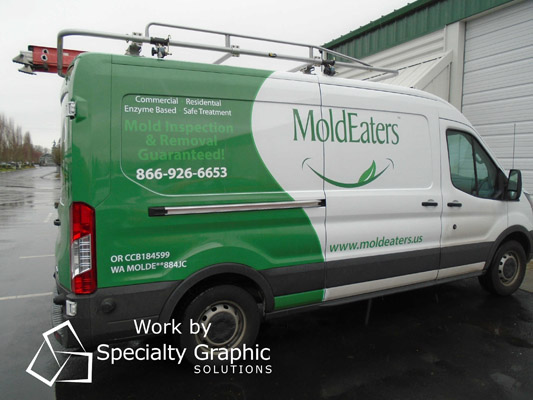 Where to buy Vehicle Graphics for your Work Van