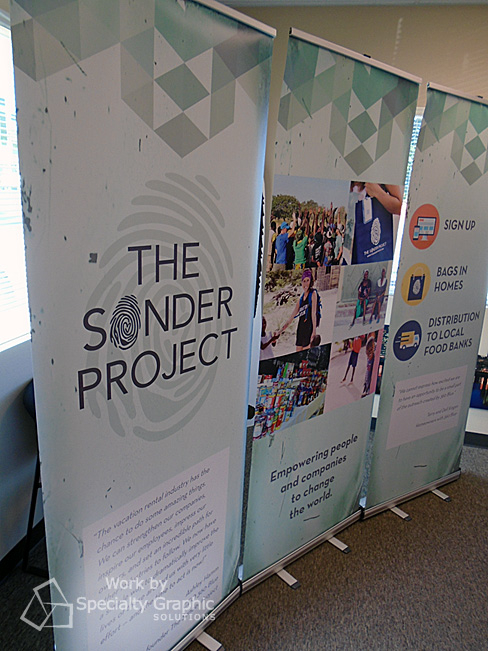 The Sonder Project uses a trio to share their message.