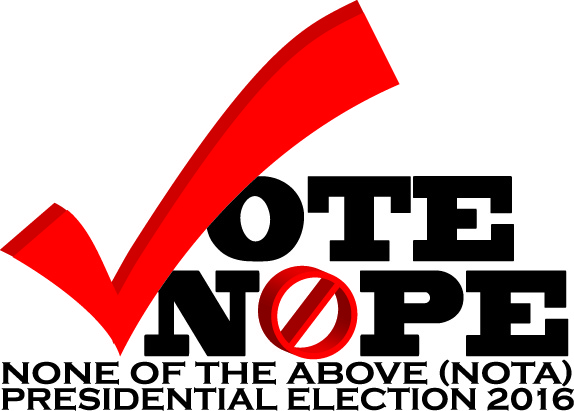 VOTE NOPE social media