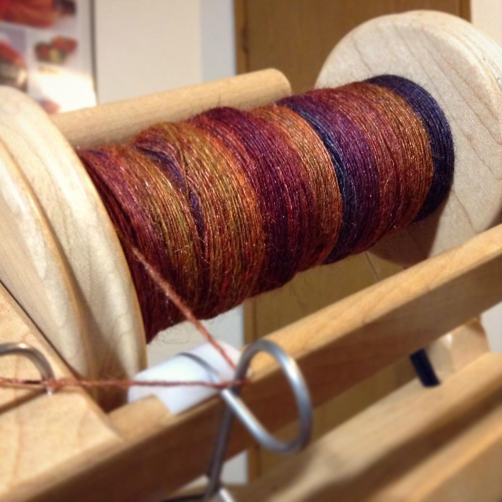 woolgatherings bfl silk