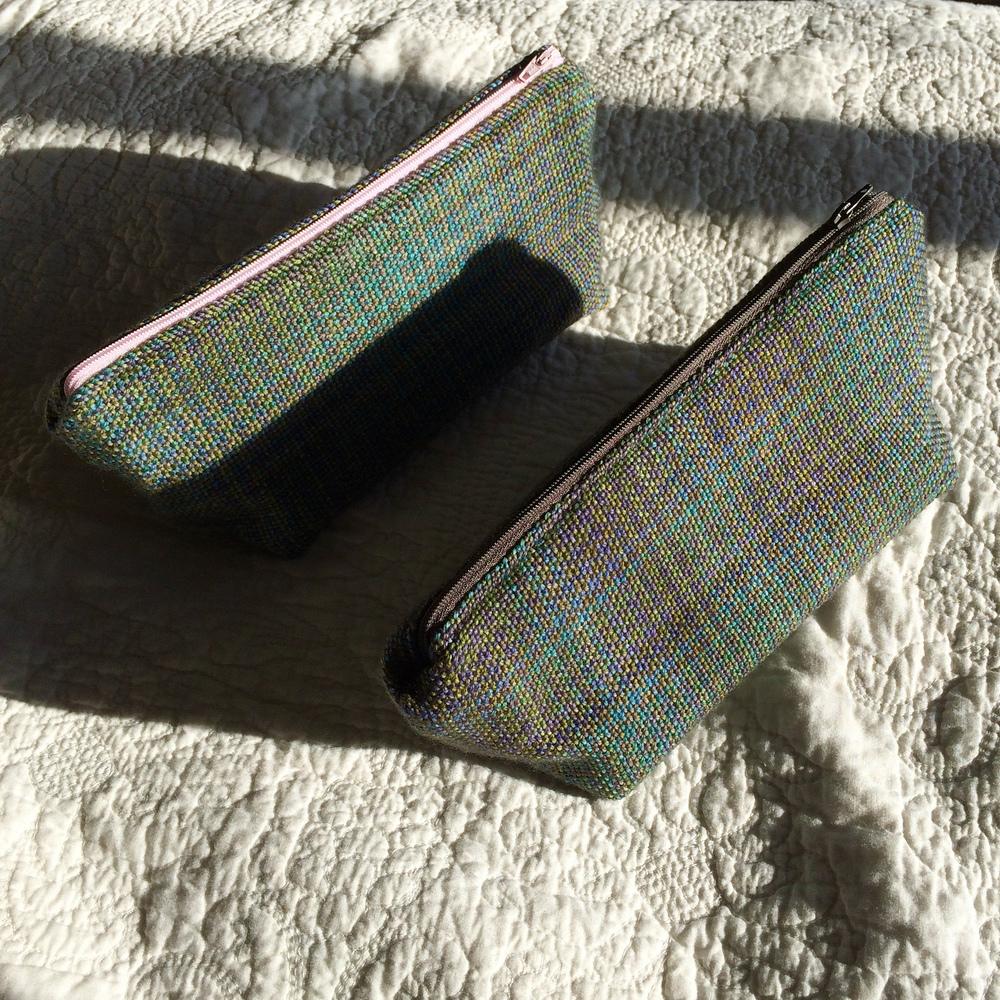handwoven zipper pouch 2