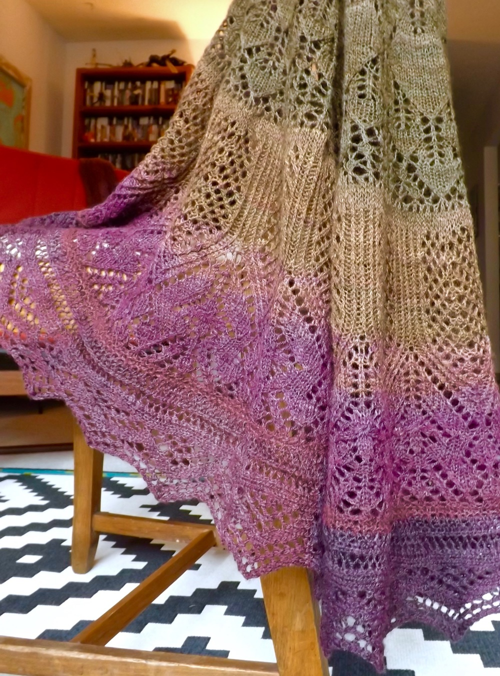 Evenstar Shawl 5