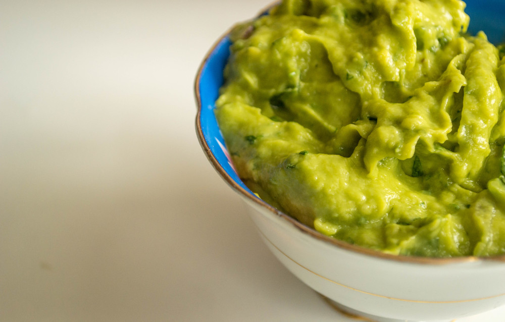 You can definitely have this guacamole. You might just want to take a 5-minute break to see if you're full or not.