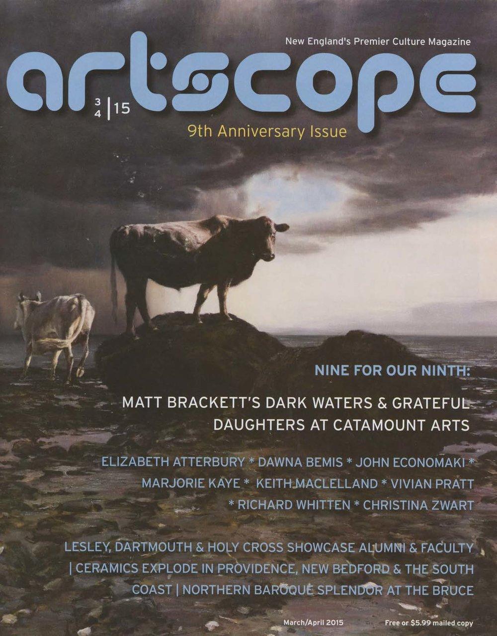 Artscope Magazine, 2015