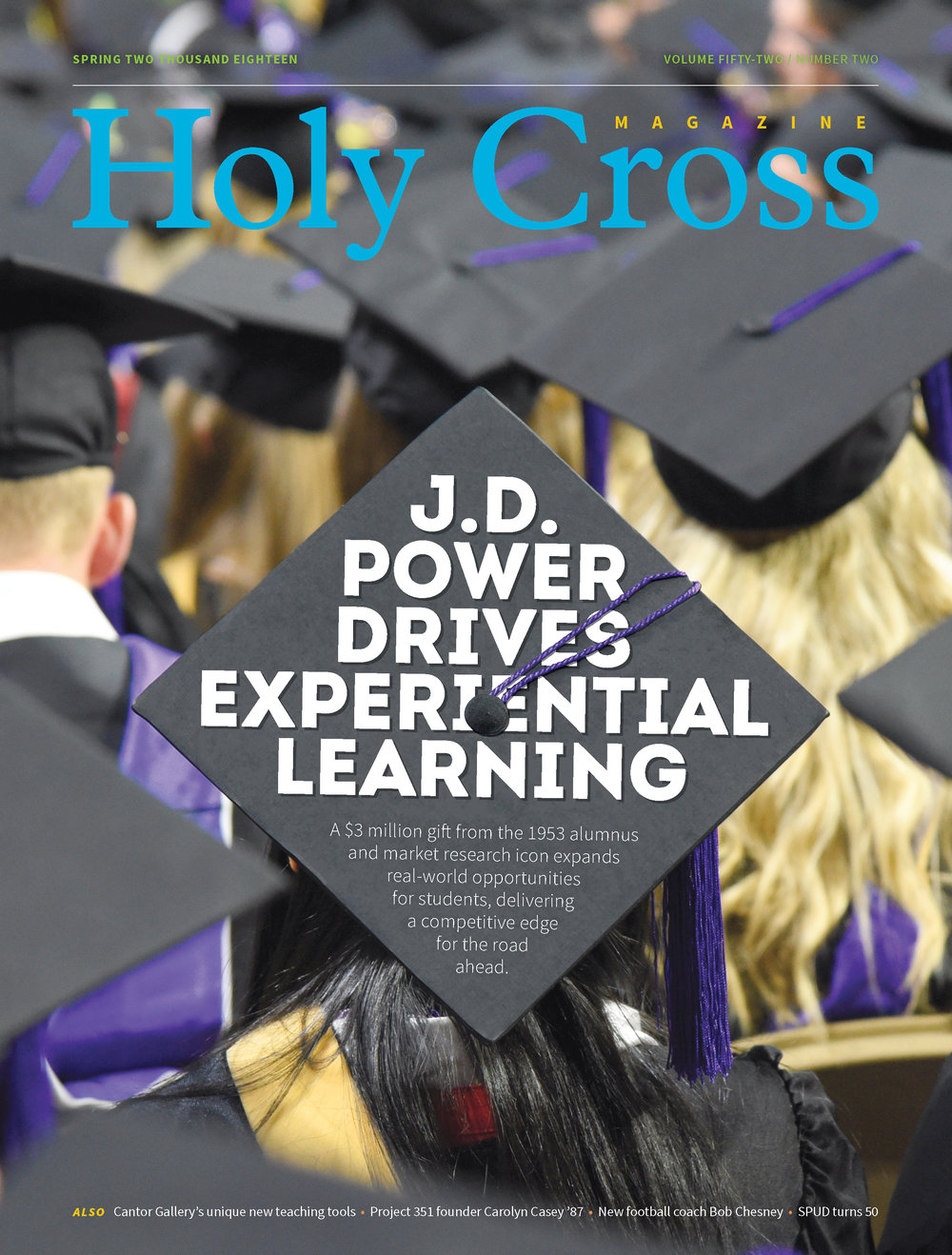 Holy Cross Magazine, 2018