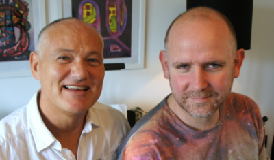 Simon Niblock and Elliott Henshaw