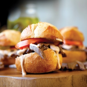 $5 Roast Beef Sliders ALL NIGHT