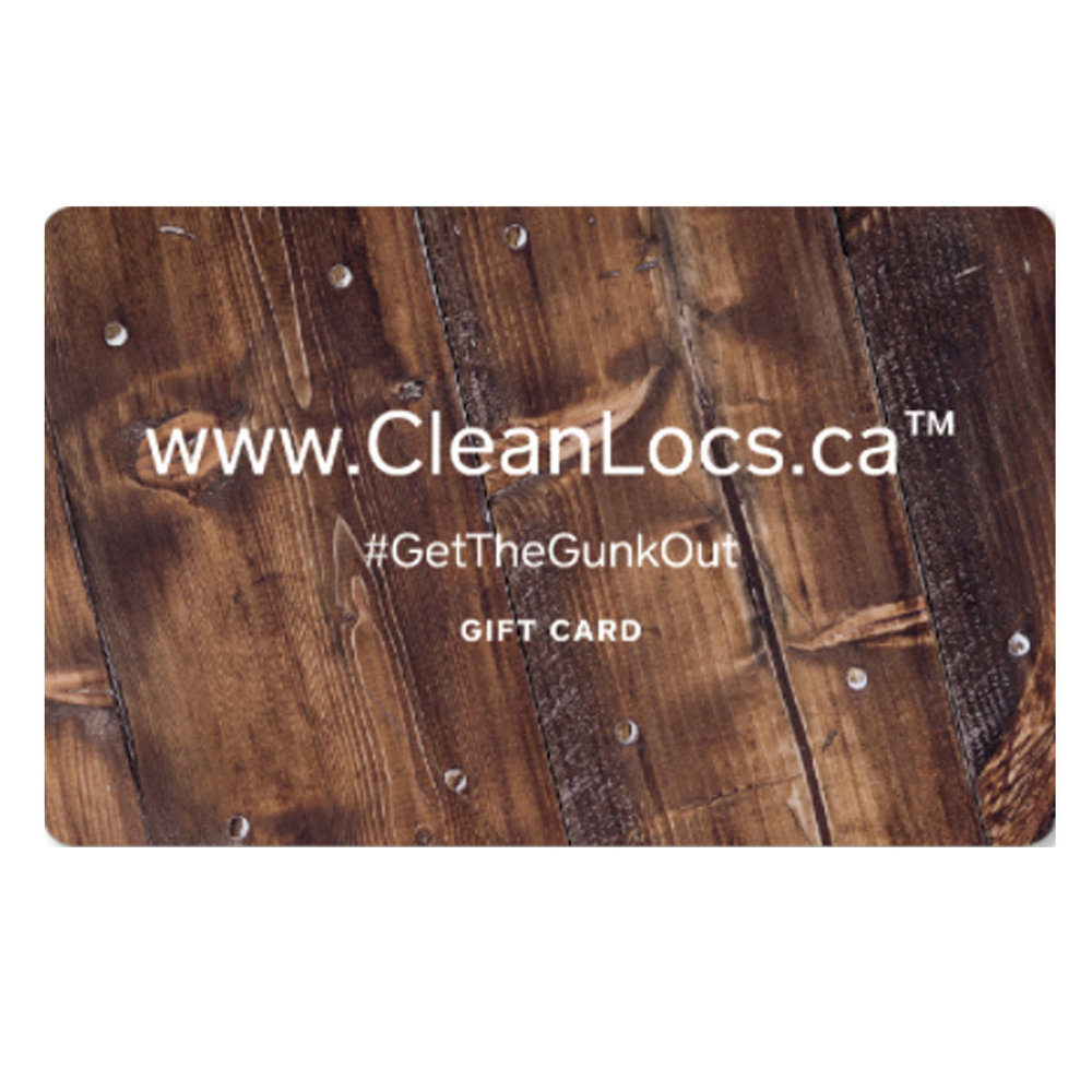CANT AFFORD IT RIGHT NOW?  - Want to get your Locs cleaned or Detailed but cost is an issue?Introducing CleanLocs GiftCard Layaway Plan!1. Auto load $25 via credit card, every two weeks until you get to $1002. Then book your appointment3. Pay with your Gift Card at the end of appointment4. Keep your card and earn a $5 credit every time your spend money in shop!