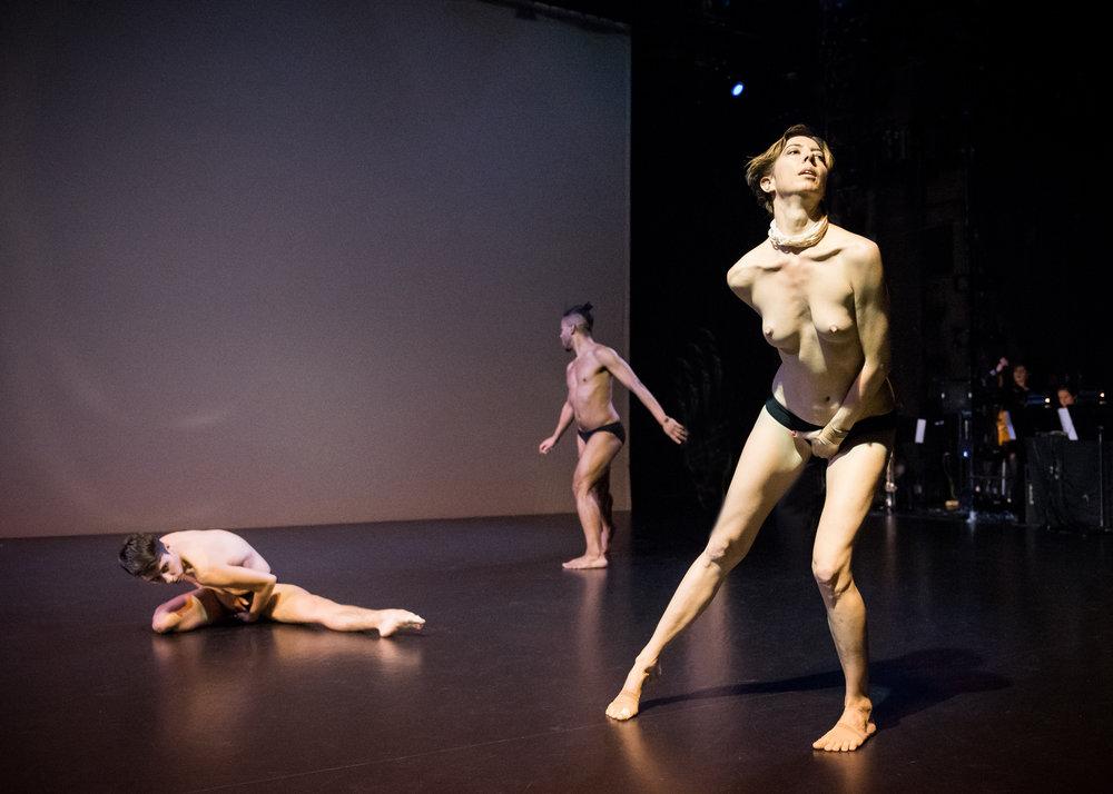 dress rehearsal   photo Ian Douglas/NYLA