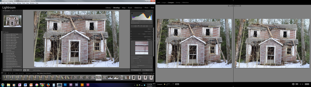 All of my photos go through Lightroom before they are finished.
