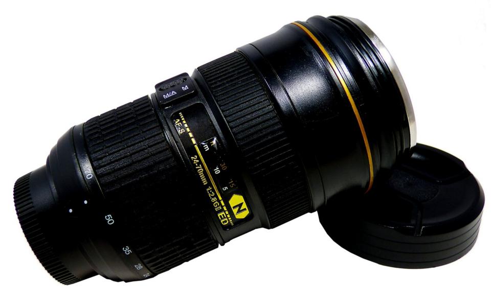 This fun Nikon replica coffee mug can be found on Amazon for around $20