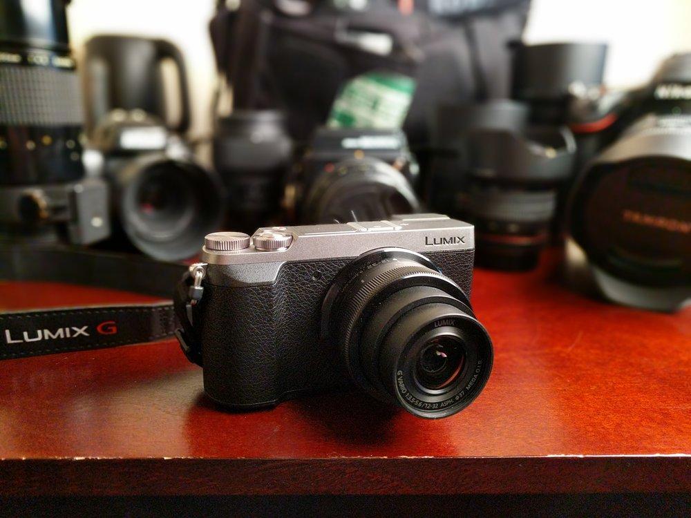 Panasonic GX85 and 12-32mm kit lens