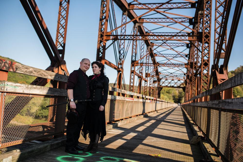 Portrait on Belmar Bridge along Sandy Creek Trail