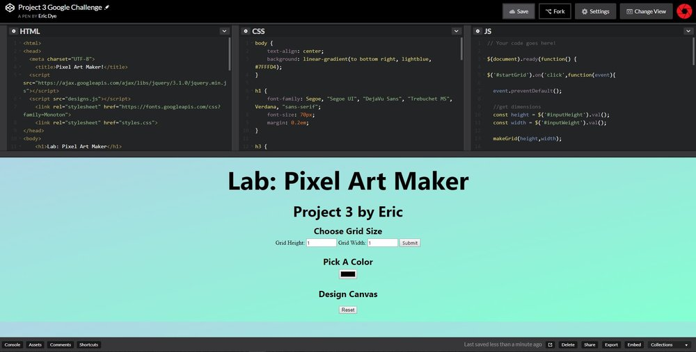 Codepen is a great website for easily sharing code.