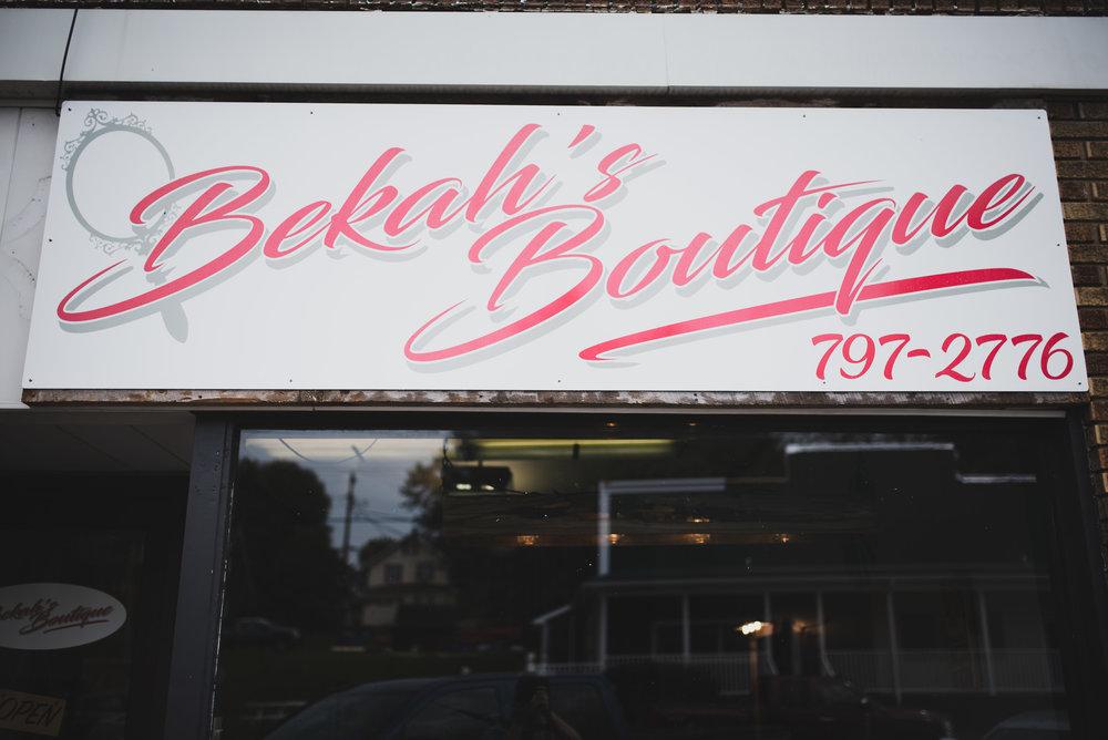 Bekah's Boutique Storefront