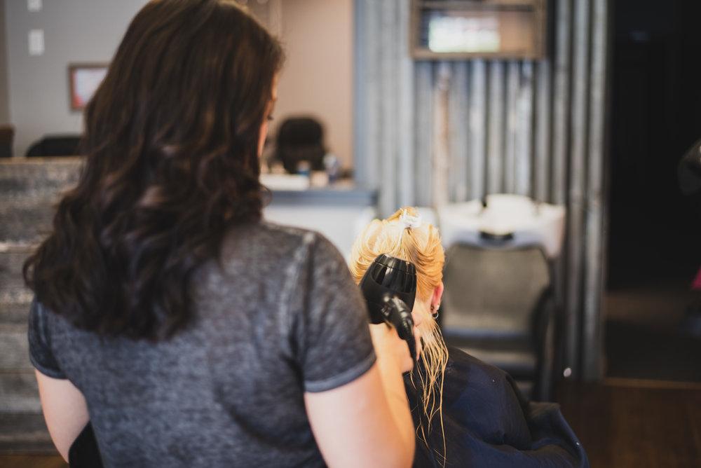 Bekah's Boutique - Hair Drying