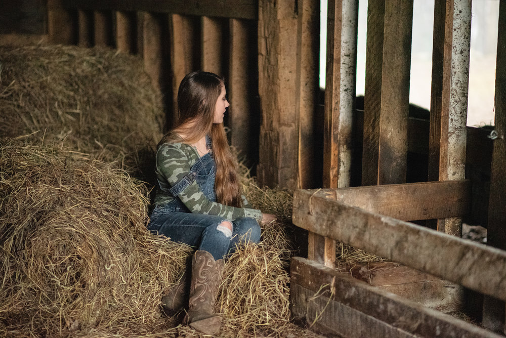 Long Hair Barn Portraits