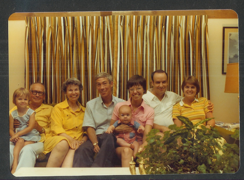 family portrait summer 1981