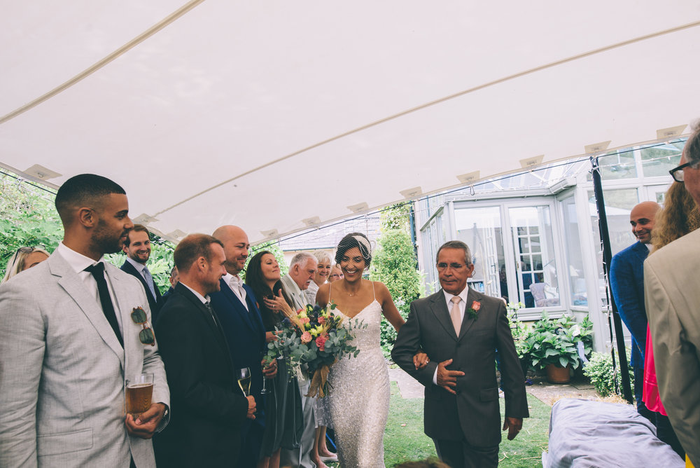 Garden Wedding photography Barley Herefordshire - Tracy + Matt -143.jpg