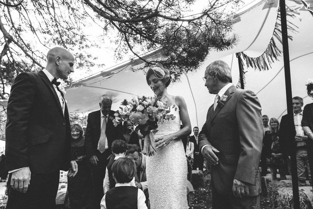 Garden Wedding photography Barley Herefordshire - Tracy + Matt -151.jpg