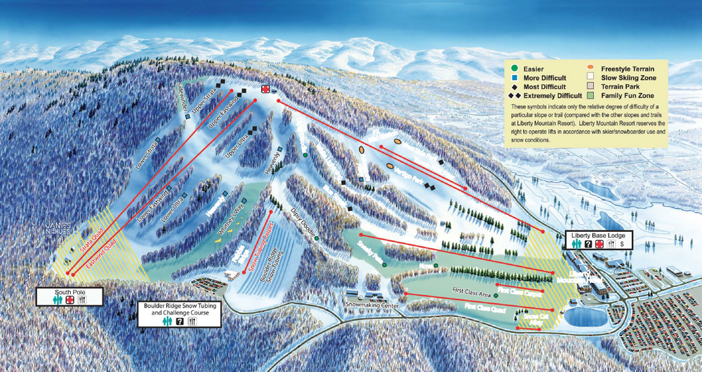 Image taken from LibertyMountainResort.com