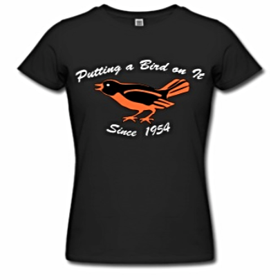 Putting a bird on it since 1954 $31.60 Luckdragon on Spread Shirt