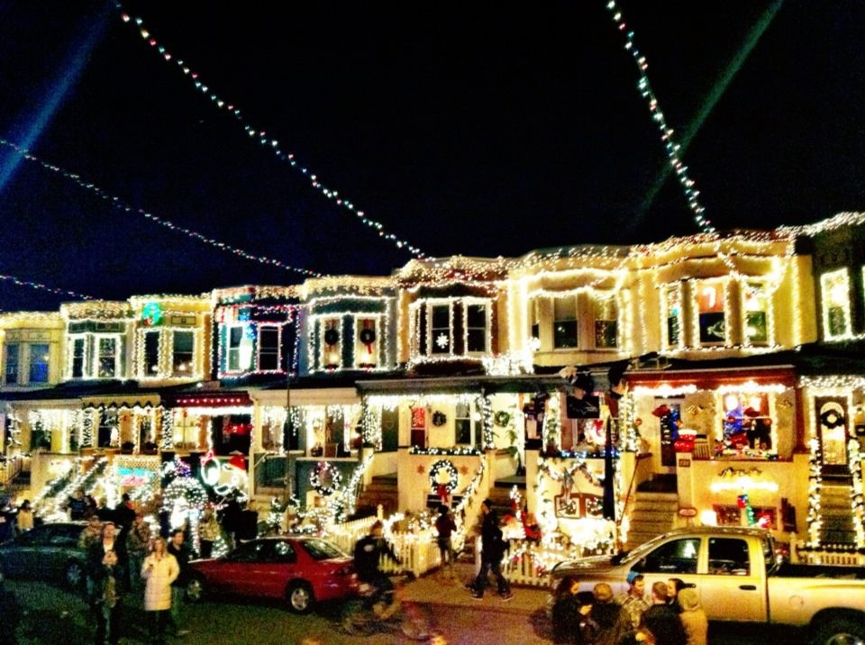 christmas lights on 34th street - Christmas In Baltimore