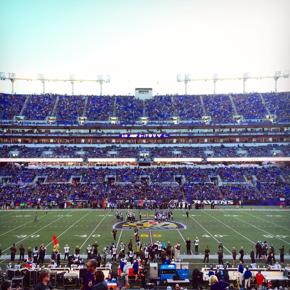 Baltimore Ravens M&T Bank Stadium