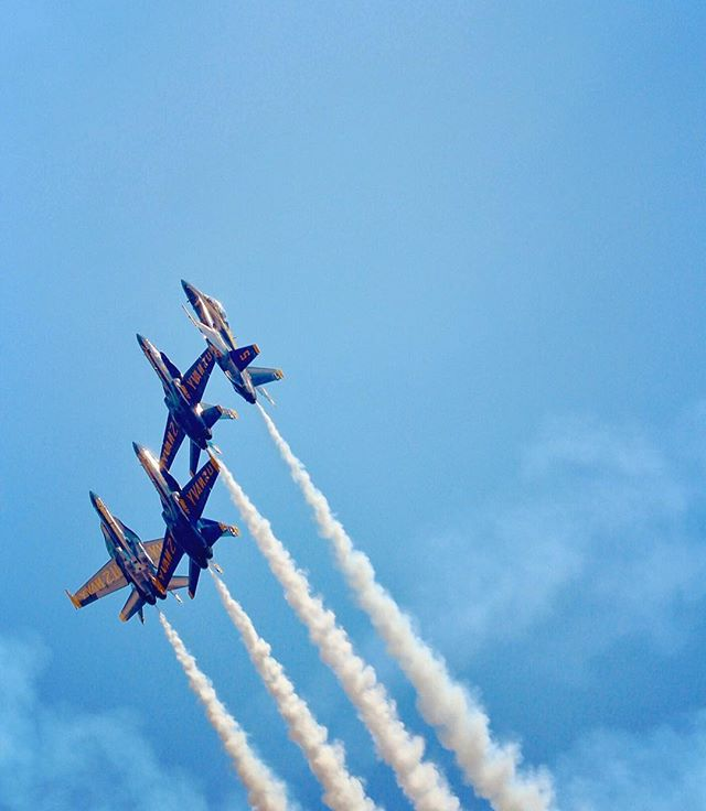 #blueangels #mdfleetweek #latergram #baltimore