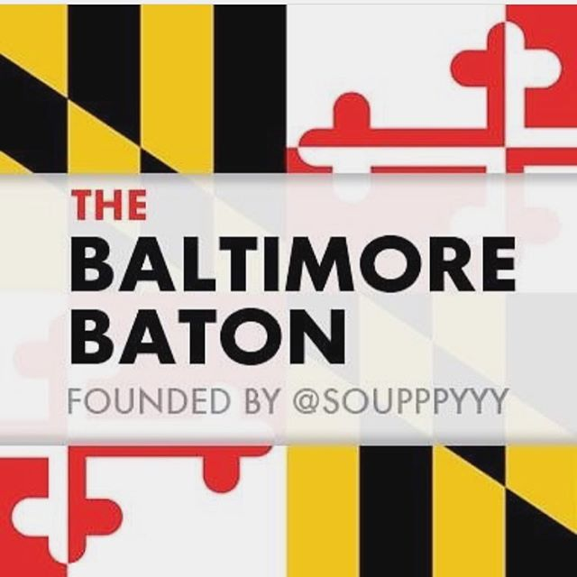 Bailtimore has the baton today!  Head over to @thebaltimorebaton as I share pictures on how I am spending my Saturday in Baltimore.