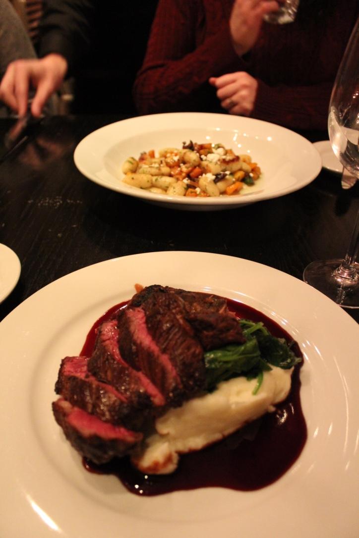 Liv2Eat's hangar steak.