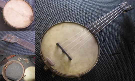Vintage Banjo Ukulele (banjolele) restoration