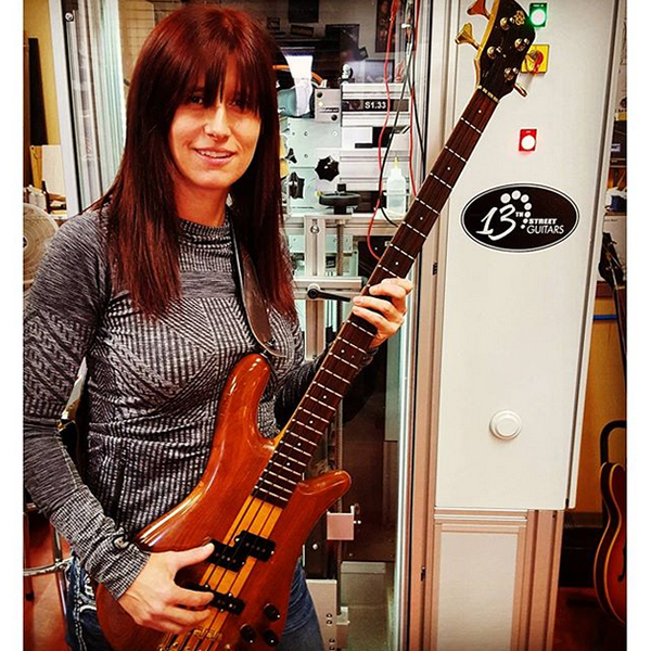 Christy Lichtenstein - Spector Artist, Studio Session Bassist