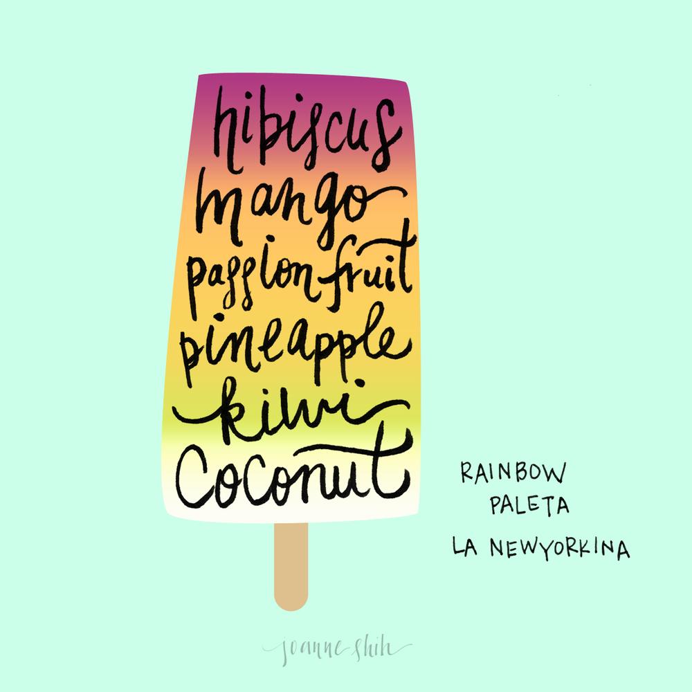 rainbow paleta - joanne shih