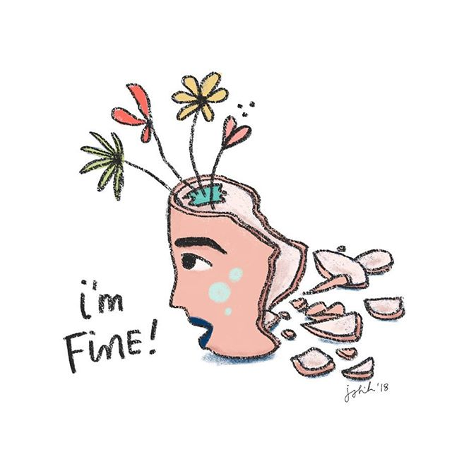 i'm fine you're fine we're all fine 🙃 #howareyoudoing #opentointerpretation