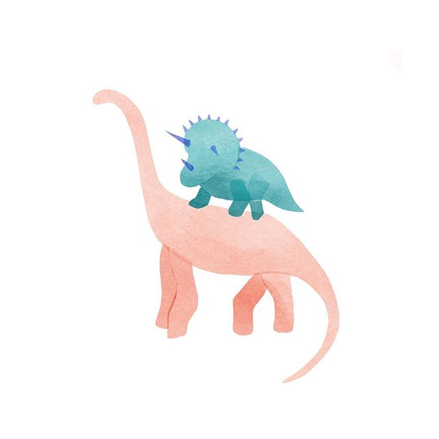 just woke up from a nap where I dreamt I was drawing dinosaurs so I made this 🙃 it's not too late to make your dreams come true in 2018!!