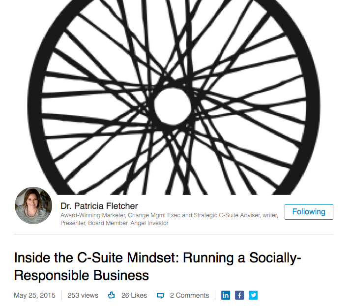 Inside the C-Suite: Running a Socially-Responsible Business, an Interview