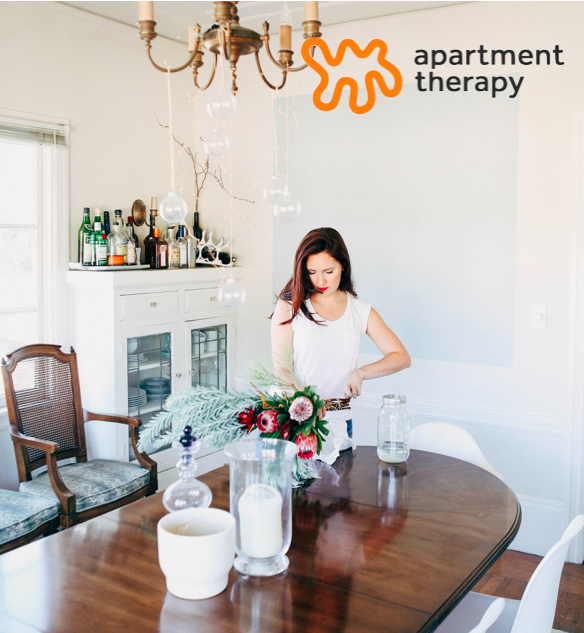 April 2015: My Apartment was featured on Apartment Therapy, a popular DIY decorating blog.
