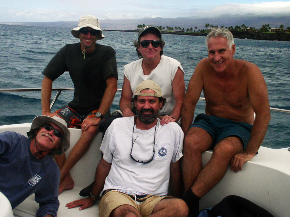 Kona Hawaii research team, 2002