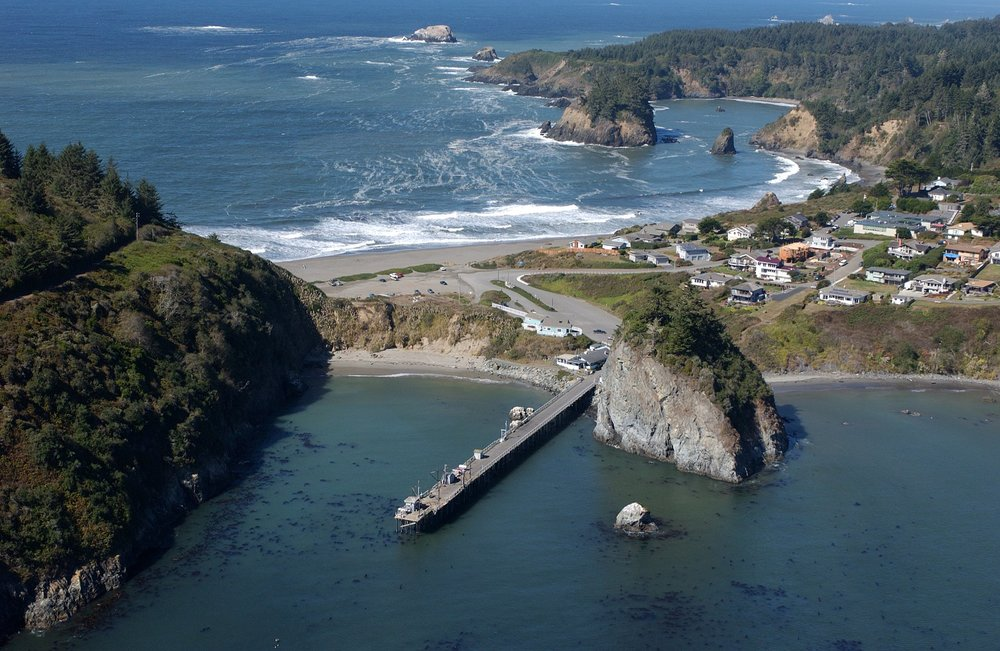 Humboldt State University's Marine Lab at Trinidad, CA