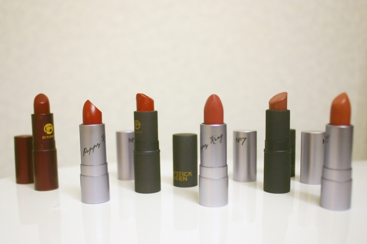 1. LQ Medieval / 2. PK History / 3. LQ Red Sinner / 4. PK Intrigue / 5. LQ Nude Sinner / 6. PK Allure