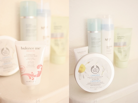 hot cloth cleanser balance me the body shop