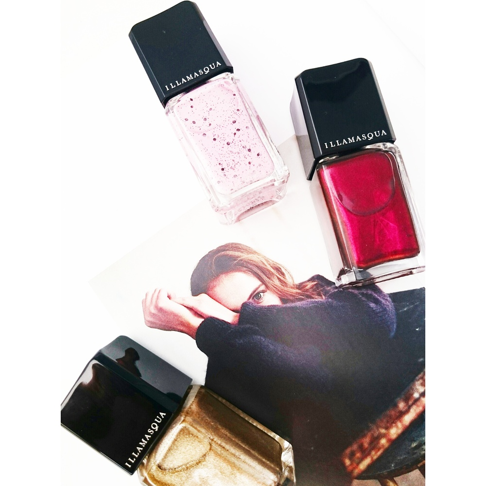 Oh TKMaxx, you're so good to me... £4 Illamasqua polishes!