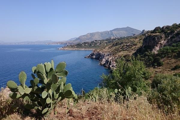 Lookout in Zingaro nature reserve