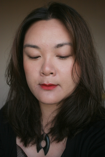 Wearing L'Oreal Paris Color Exclusive Eva's Red