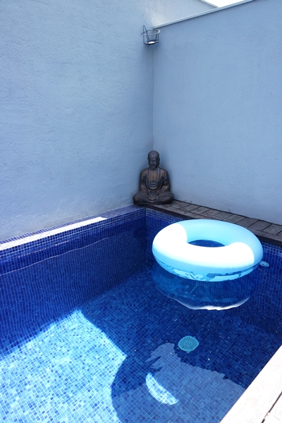 Daily Zen-out in the pool