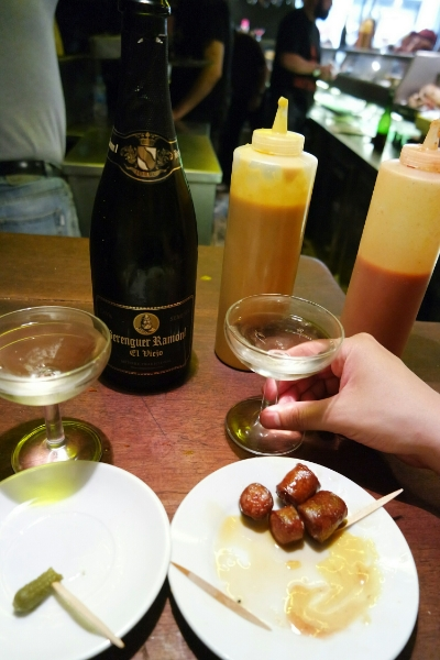 Cheap and cheerful cava at Can Paixano