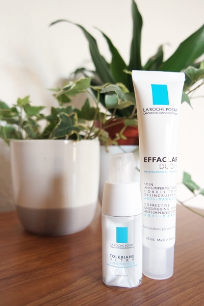 La Roche-Posay Toleriane Ultra Contour Yeux eye cream and Effaclar Duo[+] moisturiser