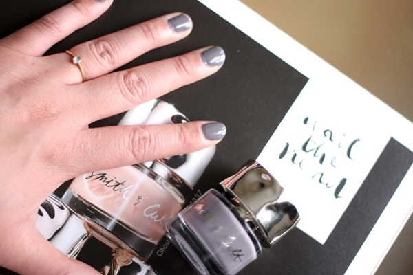 Smith & Cult Stockholm Syndrome nail polish on my nails.
